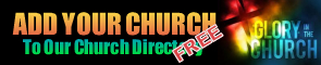 Add your church to our directory
