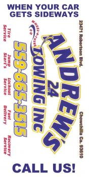 Andrews 24 Towing Inc.